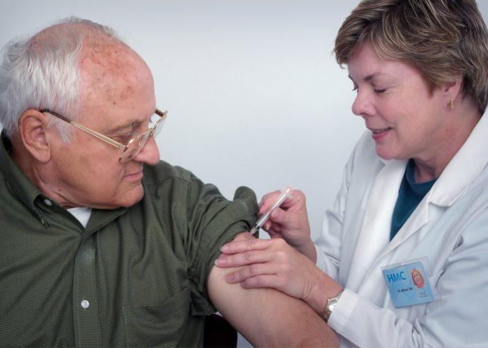 Proceso de vacunación contra covid