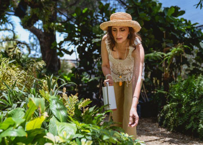 Beneficios de la jardinería para una persona mayor